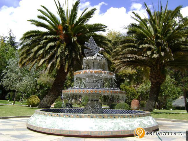 Jard n bot nico la paz bolivia plazas parques y for Caracteristicas de un jardin botanico