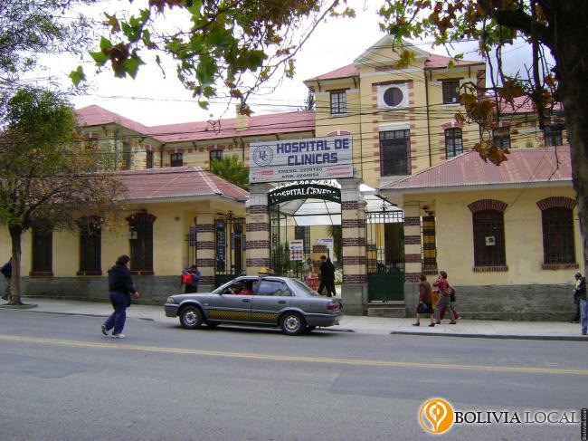 organigrama del hospital de clinicas la paz bolivia